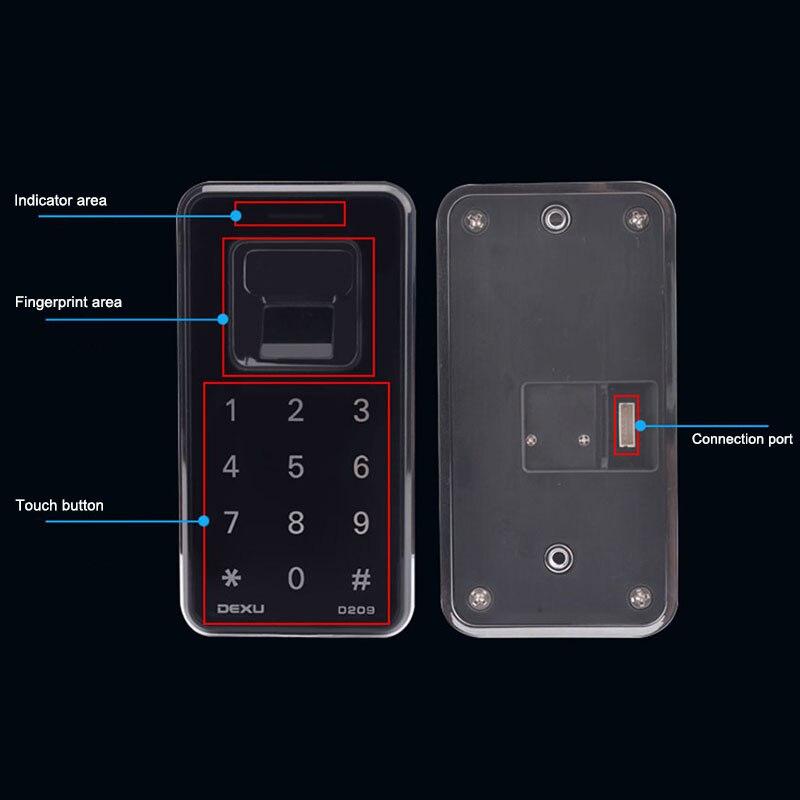 Serrure biometrique Numérique Cabinet armoire à tiroirs Clapier Casier Électronique Sans Clé Serrure IJS998
