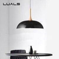 Contracted Modern Pendant Lights Personality Nordic Wrought Iron Pendant Light Corridor Restaurant 1 Lamp Lid Deco