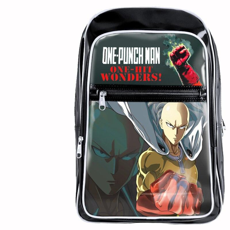 Аниме One Punch Man школьников рюкзаки печать крутые детские школьные сумки для мальчиков Bolsos Mujer Для Мужчин Книга дорожная сумка 2018