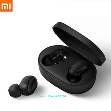 2019 Xiaomi Redmi Airdots Bluetooth Earphone Stereo bass Bluetooth 5.0 Eeadphones With Mic AI Control Handsfree TWS Earbuds xiaomi tws airdots bluetooth earphone youth version stereo bass bt 5 0 headphones mic handsfree earbuds ai control