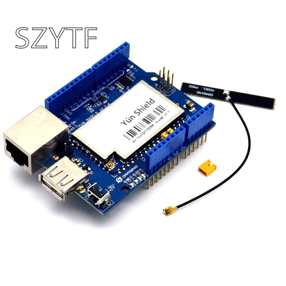 Плата расширения Yun Shield с антенной PCB для Arduino Leonardo Duemilanove Diecimila Mega2560