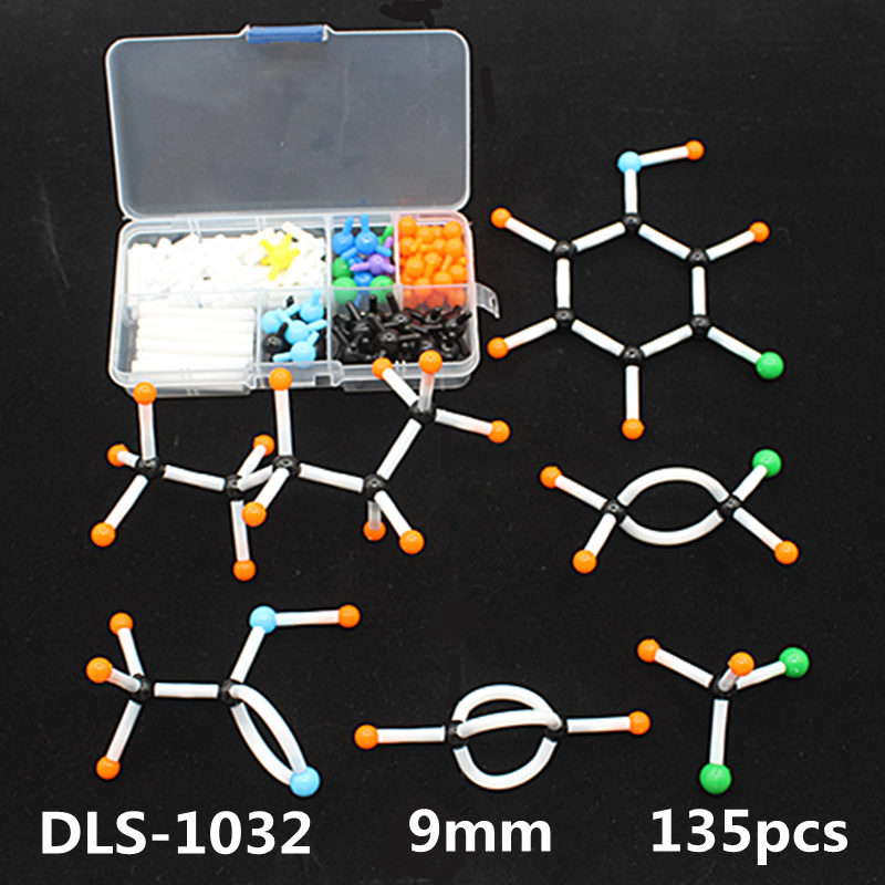 wholesale organic chemistry molecular model kit DLS-1032 atom model for high school teachers and students