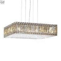 Avizeler Şeffaf kristal lamba kristal lambalar yatak odası modern yemek odası modern 50 cm x 50 cm L x 13 cm H
