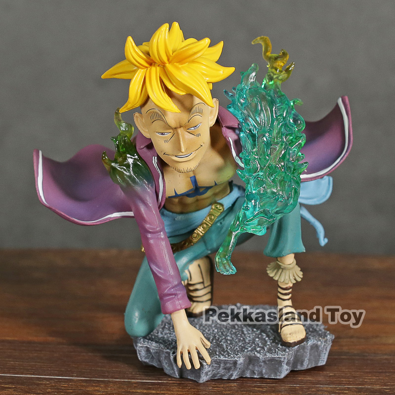 BANDAI japan action anime ONE PIECE super one piece styling figure MARCO