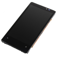 1 Piece New For Nokia Lumia 920 LCD Display Digitizer Touch Screen With Bezel Frame Assembly