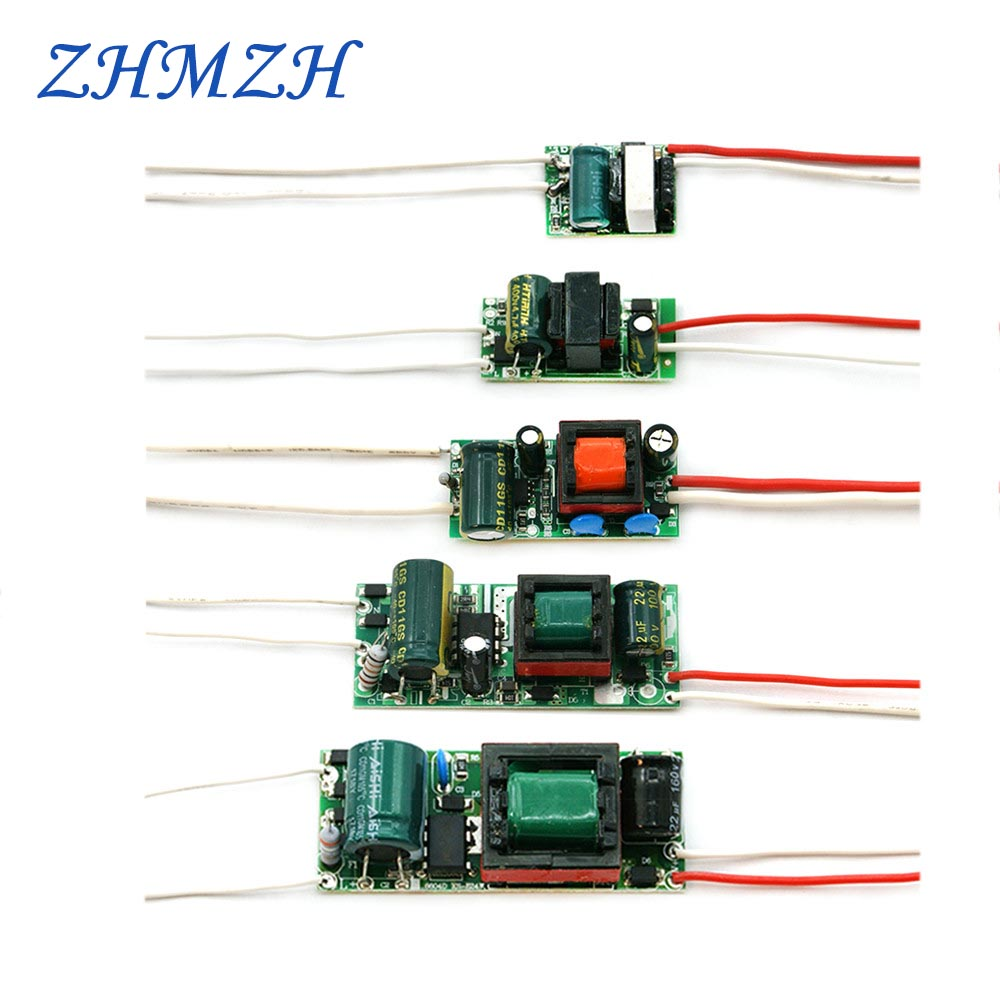 110V 220V Constant Current LED Driver Built-in Power Supply 240mA Lighting Transformer 3W 4-7W 8-12W 15-18W 18-24W For LED Bulb