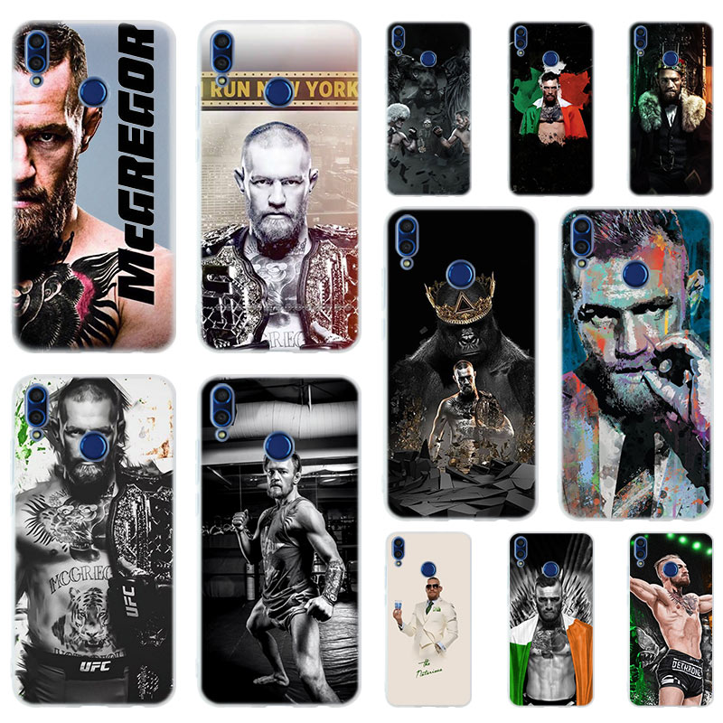 Conor McGregor UFC Soft Silicone <font><b>Case</b></font> Cover For Huawei <font><b>Honor</b></font> 9 <font><b>10</b></font> <font><b>Lite</b></font> 6X 7X 8X Max Phone <font><b>cases</b></font> 7A 8A 8C V20 PLAY 10i image