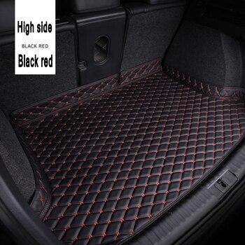 ZHAOYANHUA maletero de coche esteras para BMW serie 7 F01 F02 730i 740i 750i 760i 730d 740d 750d 730 de carga alfombra tapete de maletero con revestimiento trasero