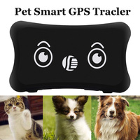 Pet GPS Tracker Collar Waterproof Realtime Tracking Dog/Cat Anti lost GPS Localizador Geo fence Alarm Low Battery Alarm