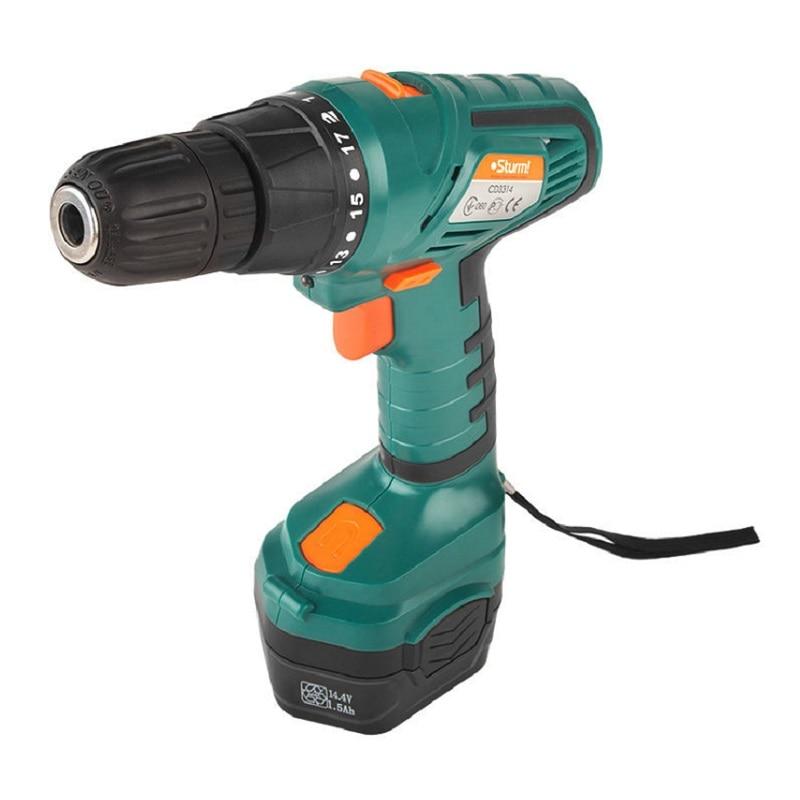 Cordless Drill/Driver Sturm! CD3314