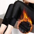 women winter velvet leggings lady large size XL push up shine warm pants girl thick slim pant fitted pencil legging