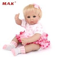 50 см реалистичные куклы силиконовые детские куклы реалистичные Reborn для маленьких девочек дети Playmate Игрушки для коллекции 20 дюйм(ов)