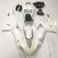 ABS Plastic Motorcycle Accessories Unpainted Injection Fairing Bodywork Kit For Yamaha YZF R1 1998 1999