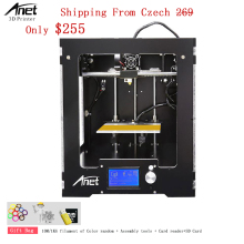 Aluminum Composite Panel Anet A3s 3D Printer With High Precision 0.1-0.3MM 1.75MM PLA ABS HIPS Filament 3D Printer Machine Sale anet a9 3d printer easy assemble with metal plate aluminum frame high precision imprimante 3d diy kit with pla abs filament