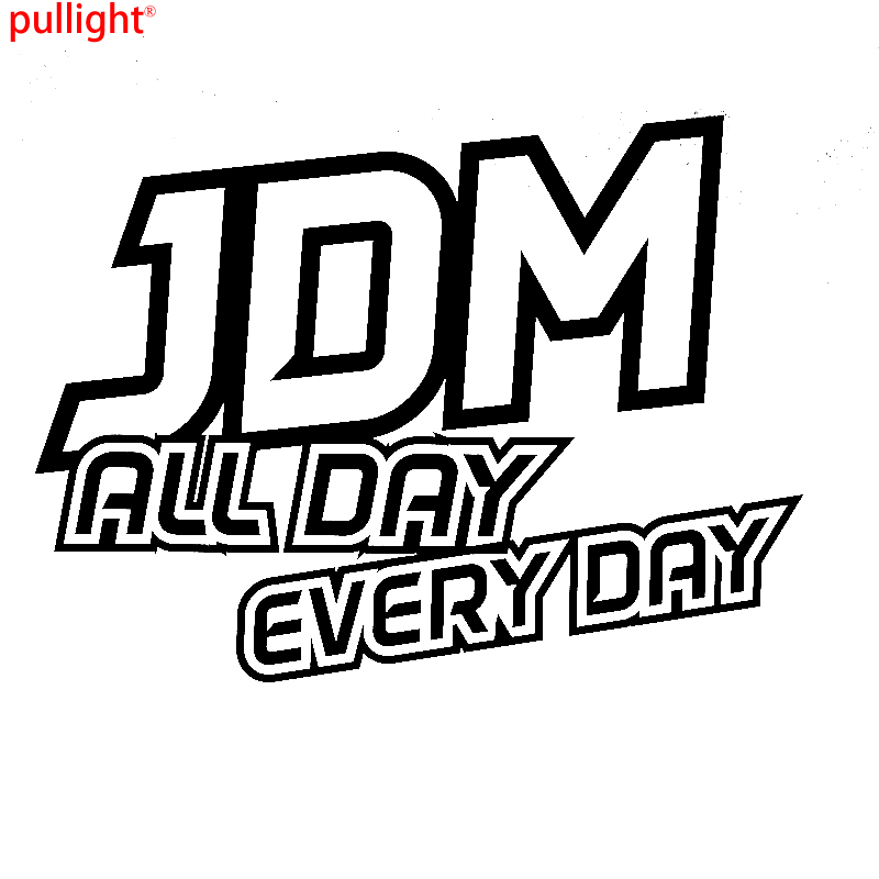 JDM ALL DAY EVERYDAY Funny Car Window Bumper Vinyl Decal Sticker ...