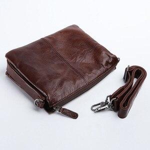 Image 4 - AETOO sac à main en cuir pour hommes, sacoche simple à épaule fashion, sacoche multifonctionnelle