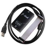 JINSHENGDA Hohe Geschwindigkeit J-Link JLink V8 USB ARM JTAG Emulator Debugger J-Link V8 Emulator
