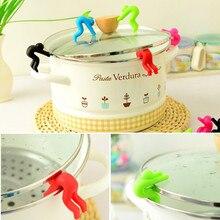 2 шт./упак. многофункциональная креативная защита от перелива кастрюль инструменты для приготовления пищи предотвращает разлив супа переливающийся 8ZCF411