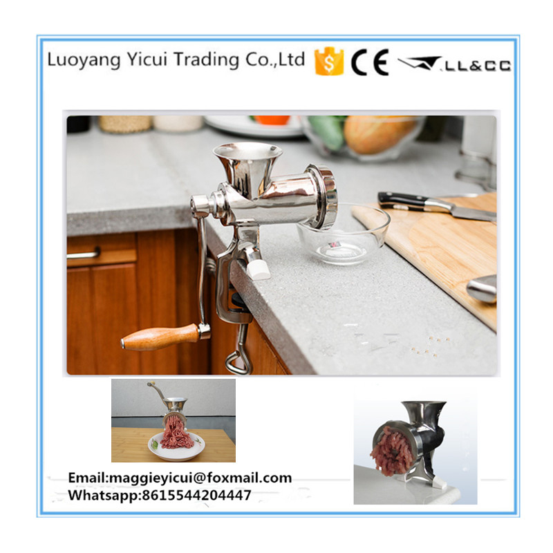 Household Hand Operated Manual Meat Mincer Machine household