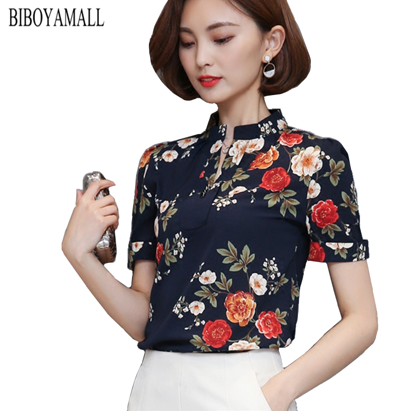 Women Blouses 2017 Casual Elegant OL Chiffon Blouse Slim Sleeveless Work Wear Blusas Feminina Tops Shirts