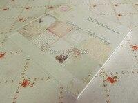 6 Acid Free Vintage Flower Decorative Scrapbook Set Of 32sheets DIY Photo Album Background Art Paper