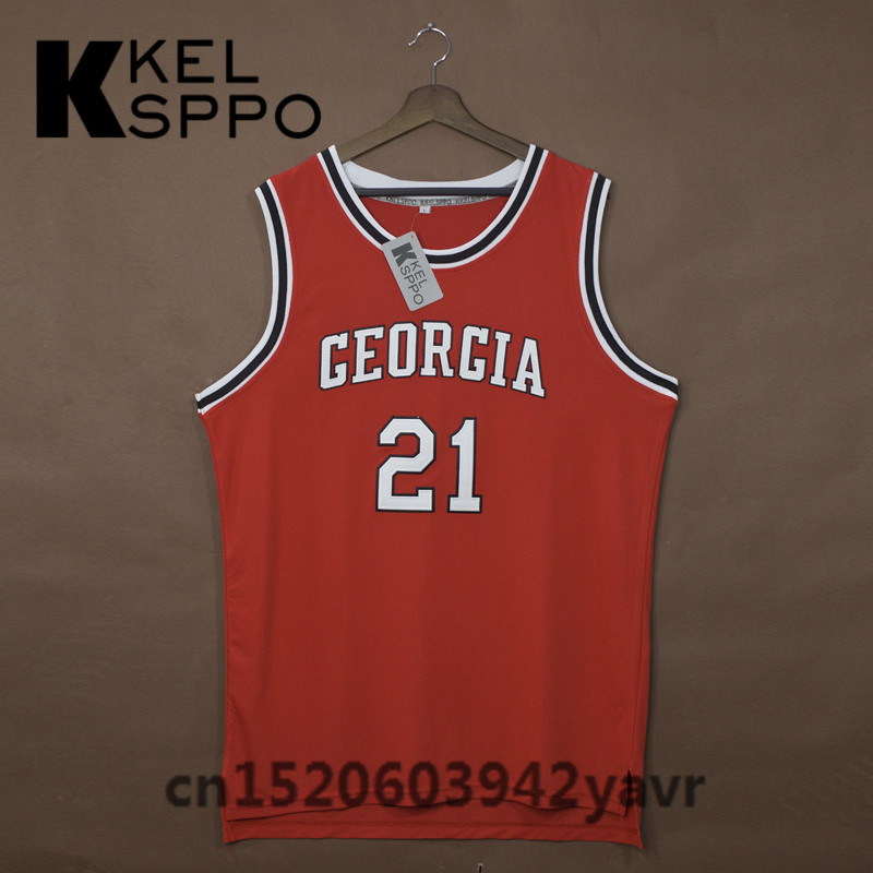 588ac5174eaf Buy georgia basketball jersey and get free shipping on AliExpress.com