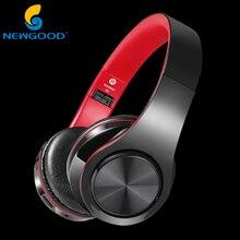 Cheaper NEWGOOD Wireless Headphones Bluetooth Headphone Wireless Headphone SD card Headset Gamer For Mobile Phone
