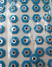 Shell jewelry bead 50pcs 12 16mm Genuine MOP Shell mother of pearl Evil Eyes Marquise hecharmagon