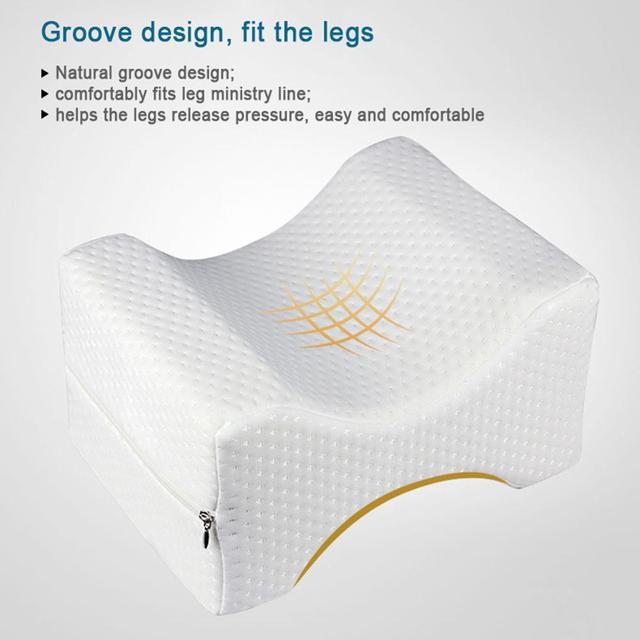 Из пеноматериала с памятью для ног Подушка для Maternit большое облегчение для спины Больное колено бедра пена колено подушка улучшает циркуля...
