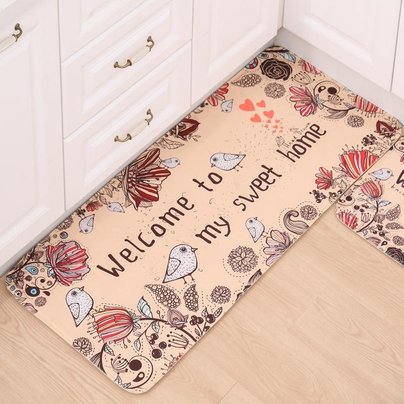 nieuw design badkamer antislip mat zachte keuken 50X120cm tapijt - Thuis textiel