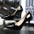 wind spring new fashion high heels fine with shallow mouth pointed toe hollow sexy women shoes