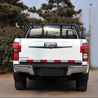 Tail Gate Cover For D Max 2012 2016 Accessories Rear Gate Trim For D Max 2016