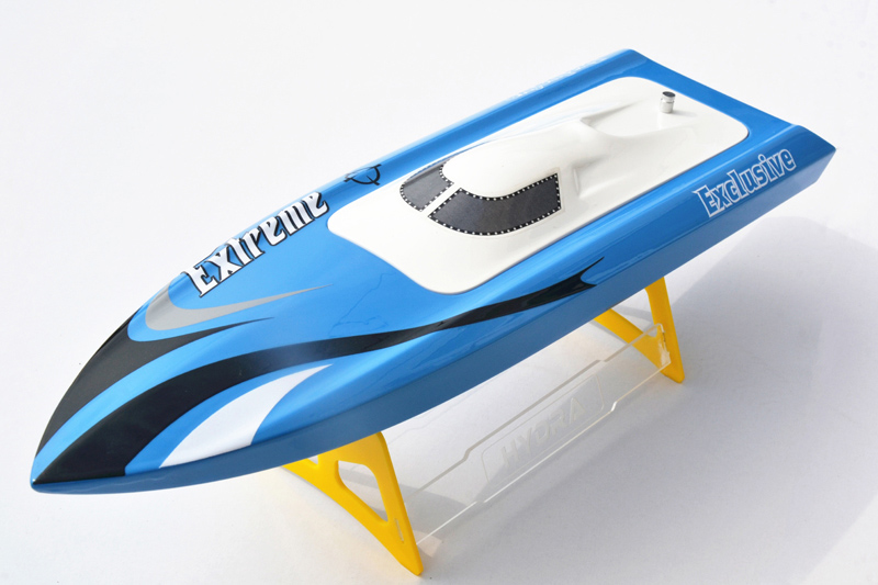 M455 KIT Millet Fiber Glass Prepainted Electric RC Boat Hull Only for Advanced Player Blue цена