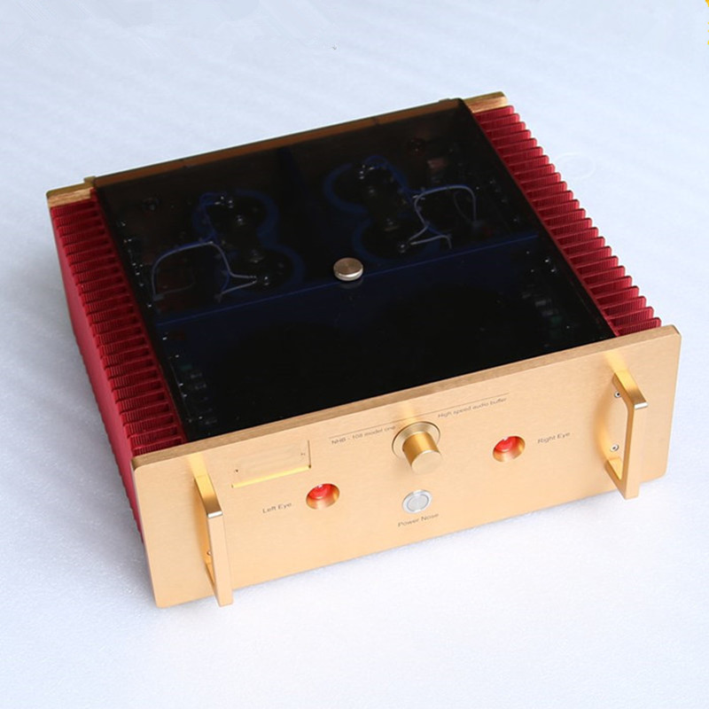 US $446 5 6% OFF|Best Sound No Negative Feedback Study/Copy Dartzeel NHB108  Power Amplifier 140W*2 8ohm OFC Super pure Cooper Transformer-in Amplifier