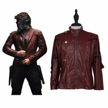 Guardians of the Galaxy Star-Lord Peter Quill Cosplay Costume Jacket Coat High Quality Holloween Costumes