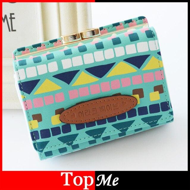 71ac2873b2 Bloqueio mulheres bolsas Moneybags curto carteiras senhora moeda titular  bolsa carteira de embreagem xadrez colorido bolsa Burse