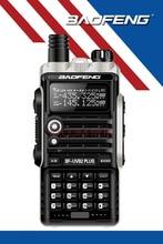 Baofeng BF-UVB2 Плюс Портативной Рации 8 Вт Портативный Двухстороннее Радио УКВ УФ Dual Band Walkie Talkie PTT