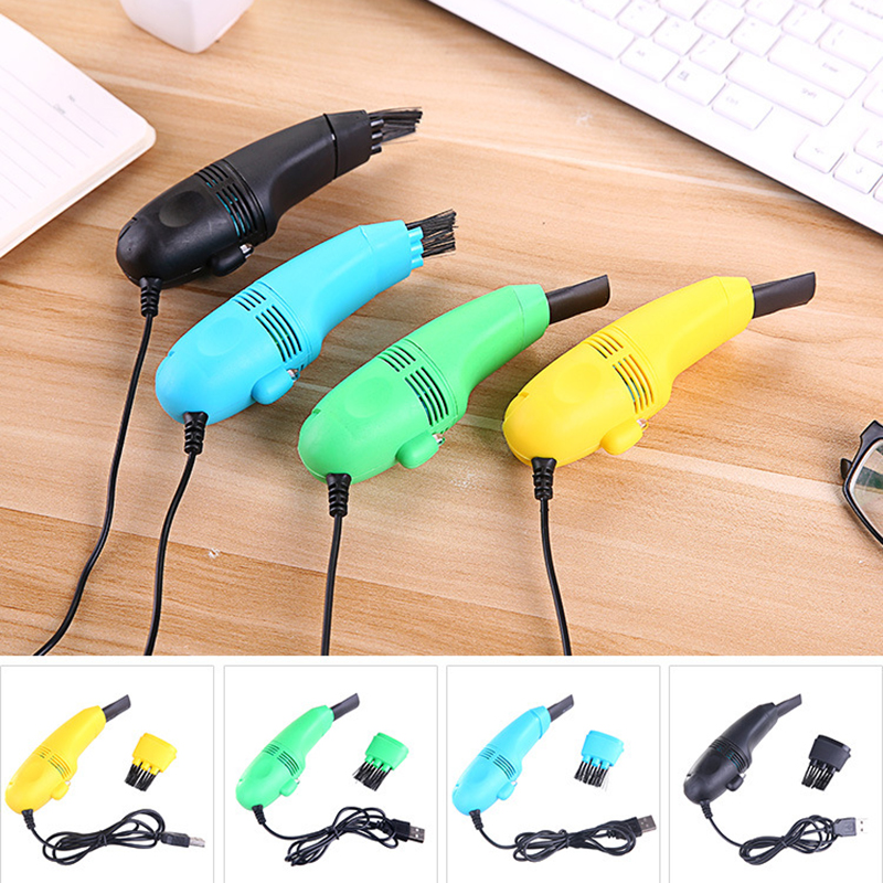 90cm USB Mini Keyboard Vacuum Cleaner Office Handheld Computer Cleaner Cleaning Brush 4 Colors portable mini usb vacuum cleaner rechargeable usb vacuum dust kit with strong suction for cleaning car computer desktop keyboard