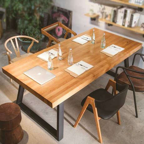 Placeholder Conference Tables Office Furniture Commercial Furniture Solid  Wood Office Tables Functional Desk New 180*80