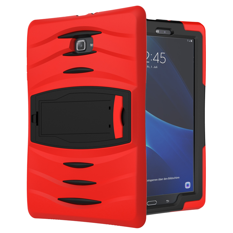 For Samsung Galaxy Tab 3 7.0 T210 T211 P3200 Luxury Shockproof Kickstand Case Armor Silicone Full Protective Hard Back Cover del luxury ultra thin armor hard back case cover for samsung galaxy note 8 td905 dropship