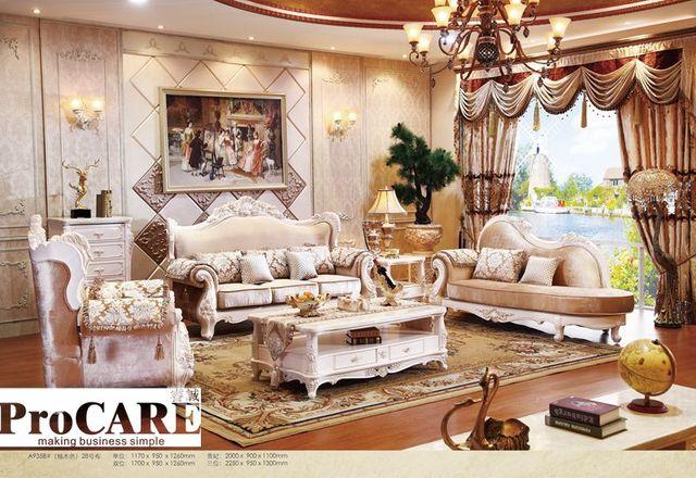 Le sofa bleu italien de tissu place des meubles de salon, meubles ...