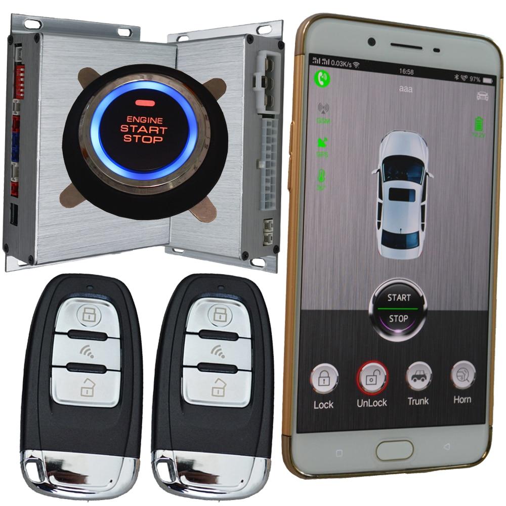 cardot 2018 year pke gsm&gps car security alarm