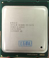 Original Processor Intel Xeon E5 2670 Eight Core 2 6GHz LGA 2011 16 Thread C2 Version