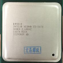 Intel INTEL XEON E5 2660 SR0KK CPU 8 CORE 2.20GHz 20M 8GT/s 95W PROCESSOR E5-2660