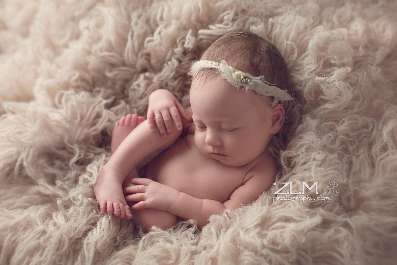 Faux Fur Newborn Photo Prop Background Blanket Basket Filler Stuffer,Wool Flokati Rug Baby Infant Photo Prop,bean Bag Covering