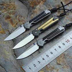 2020 nowa gorąca sprzedaż wysokiej jakości Mini naprawiono odkryty nóż taktyczny składany survival Camping M390 Powder Steel noże myśliwskie narzędzia w Noże od Narzędzia na