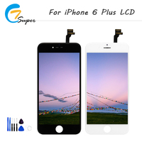 1PCS LOT Good Quality For IPhone 6 Plus LCD Display With Touch Screen Digitizer Assembly 5