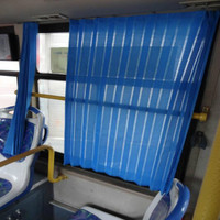 hongliangyang auto curtains auto curtain bus Van RV window sunshade blue with hook free shipping