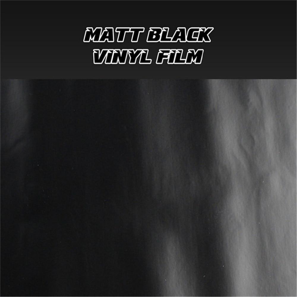 10M/20M/30M Matte/Gloss Black/White/Red/Blue/Green/Orange Self Adhesive Vinyl Film Wrap Air Release Membrane Body Sticker Decal