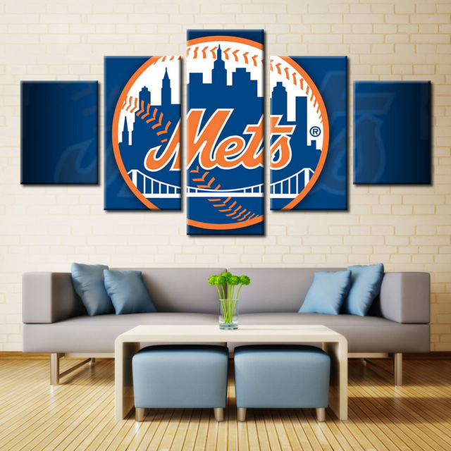 Free Shipping Baseball Canvas Painting Wall Art Home Decor Living Room Customized And